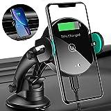 USAMS Qi Ladestation Auto, Wireless Charger Handyhalterung Kfz...